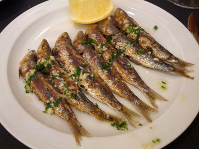 Sardines from Tossa del Mar